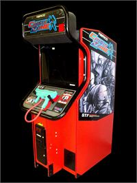 Arcade Cabinet for Crisis Zone.