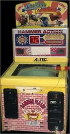 Arcade Cabinet for Critter Crusher.
