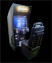 Arcade Cabinet for Cruis'n Exotica.
