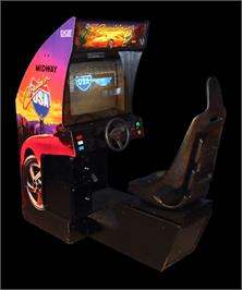 Arcade Cabinet for Cruis'n USA.