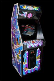 Arcade Cabinet for Crystal Castles.