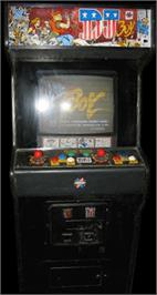 Arcade Cabinet for DJ Boy.