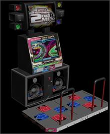 Arcade Cabinet for Dance Dance Revolution 2nd Mix.