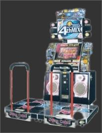 Arcade Cabinet for Dance Dance Revolution 4th Mix.