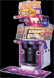 Arcade Cabinet for Dance Maniax 2nd Mix.