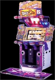 Arcade Cabinet for Dance Maniax 2nd Mix Append J-Paradise.