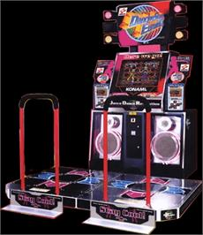 Arcade Cabinet for Dancing Stage Euro Mix.