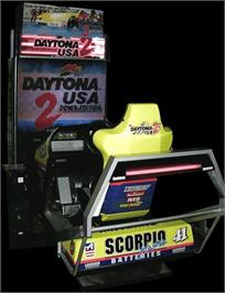 Arcade Cabinet for Daytona USA 2 Power Edition.