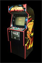 Arcade Cabinet for Defense Command.