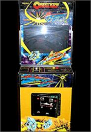 Arcade Cabinet for Delta Race.