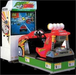 Arcade Cabinet for Dirt Dash.