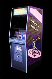 Arcade Cabinet for Discs of Tron.