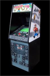 Arcade Cabinet for Domino Man.