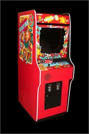 Arcade Cabinet for Donkey Kong 3.