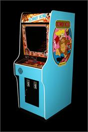 Arcade Cabinet for Donkey Kong II - Jumpman Returns.