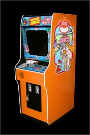 Arcade Cabinet for Donkey Kong Junior.