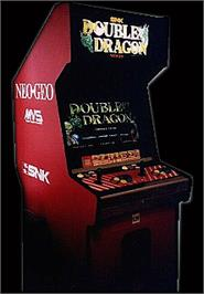 Arcade Cabinet for Double Dragon.