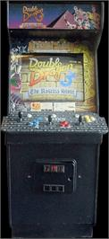 Arcade Cabinet for Double Dragon 3 - The Rosetta Stone.