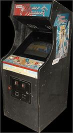 Arcade Cabinet for Double Dribble.