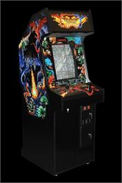 Arcade Cabinet for Dragon Saber.