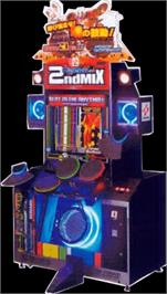 Arcade Cabinet for DrumMania 2nd Mix Session Power Up Kit.