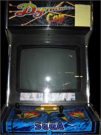 Arcade Cabinet for Dynamite Cop.
