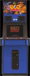 Arcade Cabinet for Eco Fighters.