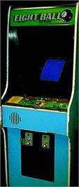Arcade Cabinet for Eight Ball Action.