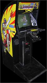 Arcade Cabinet for Enduro Racer.