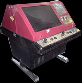 Arcade Cabinet for Excite Bike.