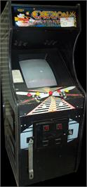 Arcade Cabinet for Exerion.