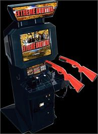 Arcade Cabinet for Extreme Hunting.