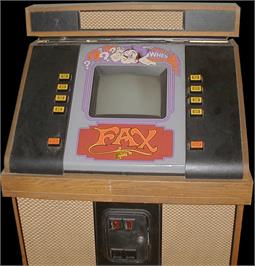 Arcade Cabinet for FAX.