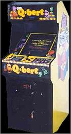 Arcade Cabinet for Faster, Harder, More Challenging Q*bert.