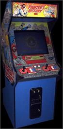 Arcade Cabinet for Fighter's History.