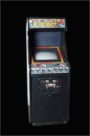 Arcade Cabinet for Fighting Fantasy.