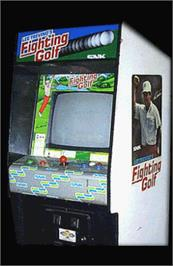 Arcade Cabinet for Fighting Golf.