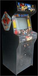 Arcade Cabinet for Final Crash.