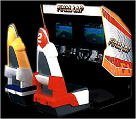 Arcade Cabinet for Final Lap.