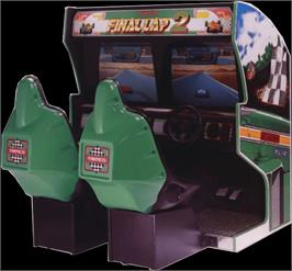 Arcade Cabinet for Final Lap 2.