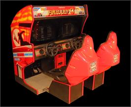 Arcade Cabinet for Final Lap 3.
