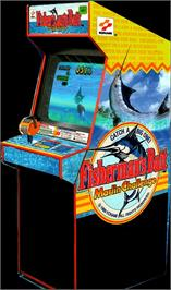 Arcade Cabinet for Fisherman's Bait - Marlin Challenge.
