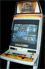 Arcade Cabinet for Fist Of The North Star.