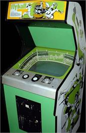 Arcade Cabinet for Flyball.
