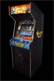 Arcade Cabinet for Forgotten Worlds.