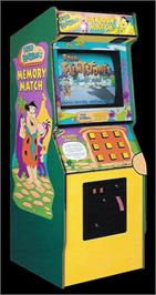 Arcade Cabinet for Fred Flintstones' Memory Match.
