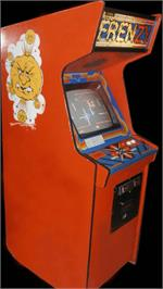 Arcade Cabinet for Frenzy.