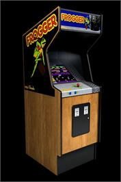 Arcade Cabinet for Frogger.