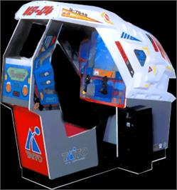 Arcade Cabinet for Galactic Storm.