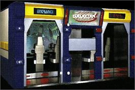 Arcade Cabinet for Galaxian 3 - Theater 6 : Project Dragoon.